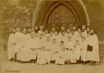 Exeter Cathedral Choir c.1880