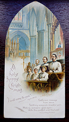 Exeter Catehdral Choir Christmas Card