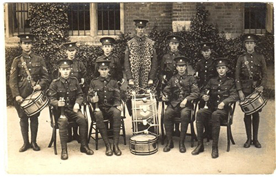 Exeter Catehdral School cadet force c.1910?