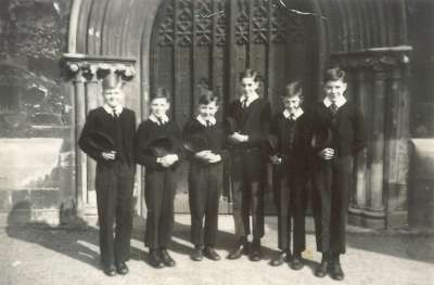 Exeter Cathedral - Senior choristers