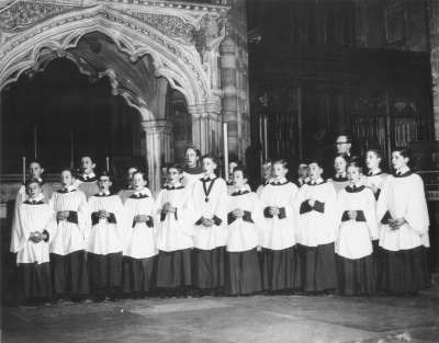 Exeter Cathedral Choir 1959/60