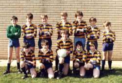 Exeter Cathedral School - Football team c.1980