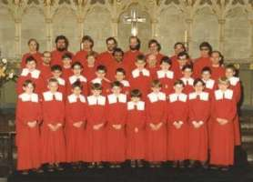 Exeter Cathedral choir 1984