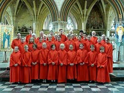 Exeter Cathedral choir 2008