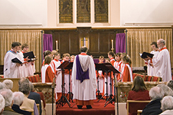 Exeter cathedral choir at Barnstaple